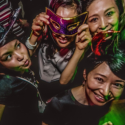 Nightlife in Kyoto-butterfly Nightclub