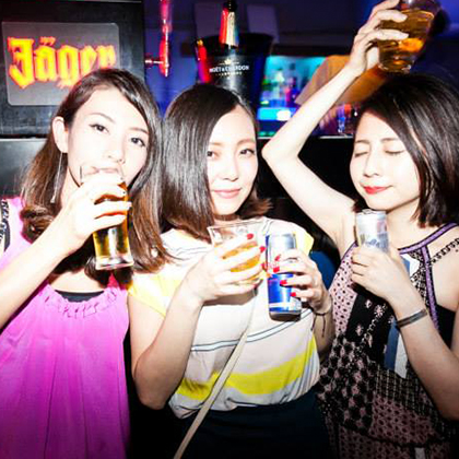 Nightlife in Osaka-CLUB CIRCUS Nightclub