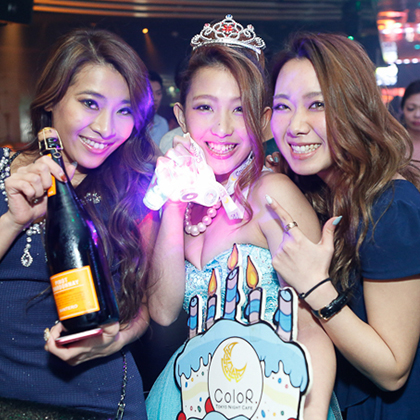 ROPPONGI Nightclub-ColoR. TOKYO NIGHT CAFE2015.1128