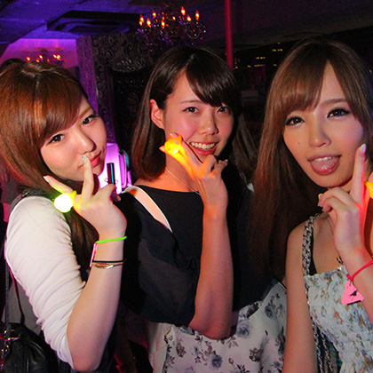Japan nightlife girls