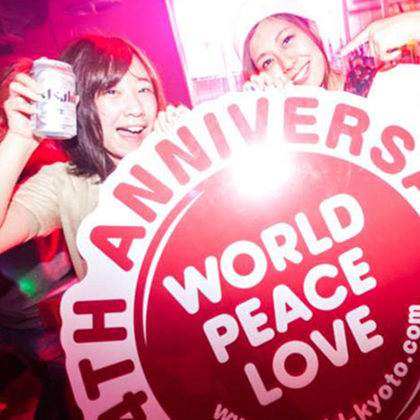 KYOTO Nightclub-WORLD KYOTO2015 ANNIVERSARY