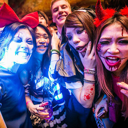 KYOTO Nightclub-WORLD KYOTO2015.HALLOWEEN