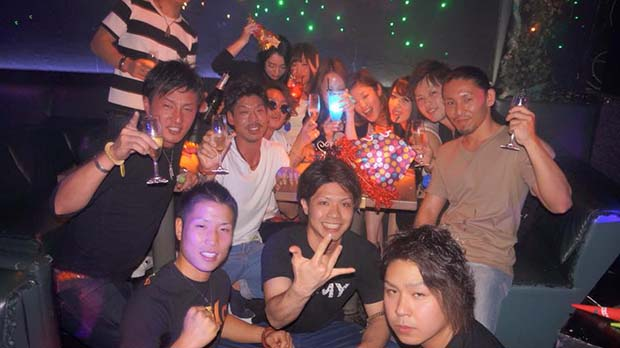 Nightlife in NAGOYA-the emporiumn Nightclub(4)