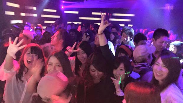 Nightlife in FUKUOKA-club infinity Clube(2)