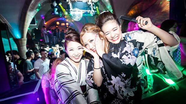 Nightlife in Kyoto-World Quioto Clube(3)